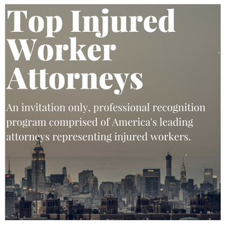 Top Injured Worker Attorneys. An invitation only, professional recognition program comprised of America's leading attorneys representing injured workers.