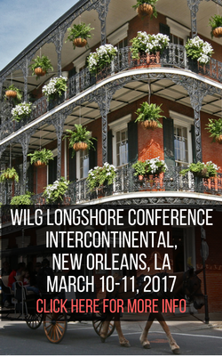 WILG Longshore Conference, Intercontinental, New Orleans, LA. March 10-11, 2017. Click here for more info